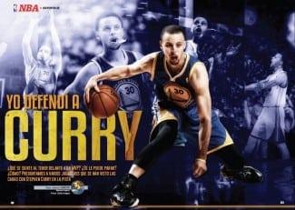 'Yo defendí a Curry', reportaje de Gigantes con 7 testimonios de rivales del MVP