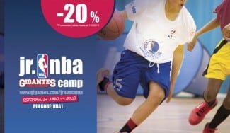 El Jr NBA Gigantes Camp, tu oportunidad de vivir una experiencia única. ¡Oferta 20% de descuento!