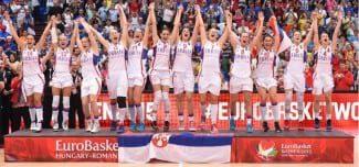 Serbia celebra el oro en el Eurobasket con una canción de Eurovisión (Vídeo)