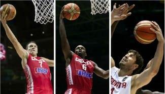 Perasovic, lista de 24, con 11 que han pasado por la ACB. Croacia, a por sus cuartos Juegos