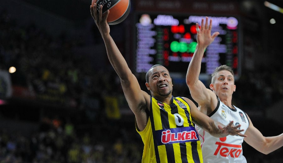 Goudelock no seguirá en el Fenerbahçe. ¿Consecuencia de su fiesta en plenas semis?