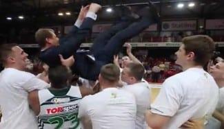 ¡Qué dominio! Zalgiris, 5º título seguido en Lituania. Así lo celebraron sobre la pista