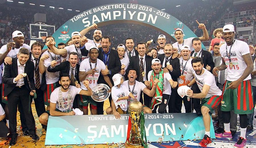¡Pinar Karsiyaka campeón turco! Bobby Dixon MVP y Juan Palacios ejecutor con 22 puntos