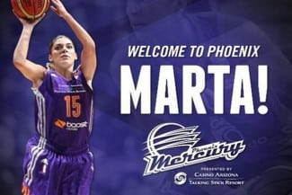 Debut WNBA de Xargay: 3 puntos en 12 minutos en la victoria en la prórroga ante las Sparks