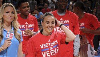 """Becky Hammon hace historia y su MVP la ensalza: """"Casi no la conozco pero ya la quiero"""""""