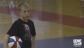 Apunta maneras. Mira cómo asiste el hijo de Jason Williams… con sólo ¡13 años! (Vídeo)