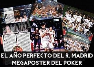 El histórico póker del Real Madrid, en tu Gigantes de julio