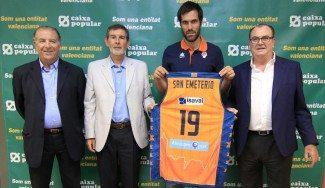 """San Emeterio, presentado: """"¡Por fin estoy en Valencia!"""""""