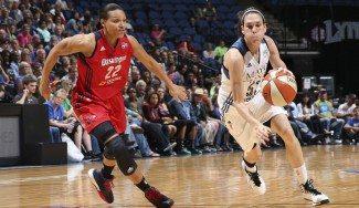 Anna Cruz logra su 2ª mayor anotación del curso en la WNBA ante las Stars. Sus 14 puntos, aquí (Vídeo)
