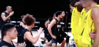La desafiante Haka de NZ no es suficiente y Australia gana la ida del FIBA Oceanía (Vídeo)