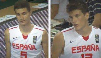 La conexión de moda en el basket español. Así juegan Miguel González y Sergi Martínez en la Sub16 (Vídeo)