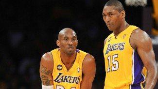 El polémico Metta World Peace podría regresar a los Lakers. Kobe acepta su llegada