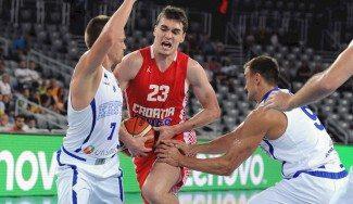 Hezonja explota con Croacia ante la Bosnia de Ivanovic: 24 puntos. Su actuación, aquí