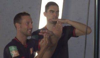 Satoransky, el rey de la fiesta. Sonrisa y mucho baloncesto en su verano de trabajo (Vídeo)