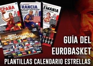 Guía Eurobasket. ¡Gigantes te ofrece la mejor previa de las 24 selecciones! ¡Ya a la venta!