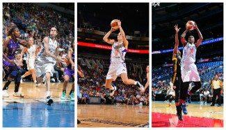 Las españolas WNBA Cruz, Xargay y Lyttle, en la lista de lesionadas