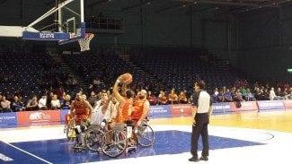 España 5ª en chicos y en chicas en el Campeonato de Europa de Baloncesto Silla de Ruedas