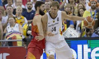 Nowitzki se retira de Alemania. Así fue su último momento de gloria… ante España (Vídeo)