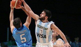 Campazzo, en racha. ¡Tapón decisivo a Fitipaldo para superar a Uruguay! (Vídeo)