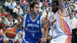 Spanoulis se ha enfrentado 7 veces a España. ¿En cuántas se llevó la victoria?