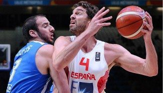 ¡Victoria Marca España! La defensa y Gasol (27) tumban a Grecia (73-71). ¡Corazón de campeón!