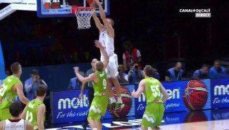 Letonia también da espectáculo. Alley-oop del ex ACB Mareks Mejeris (Vídeo)