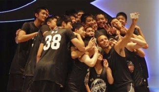 Road Show por Asia: 5 días, 5 ciudades. Clinic de Curry a los sub-19 de Japón (Vídeo)
