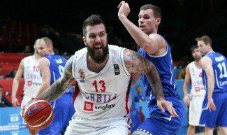 Sin concesiones. Serbia apabulla a Finlandia y ya está en cuartos. Raduljica (27), estrella
