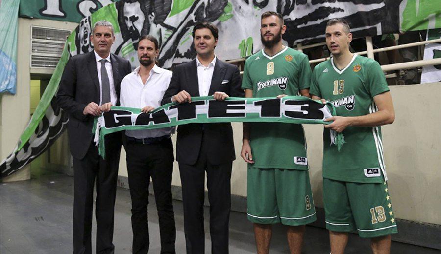 ¡Vaya quinteto! El Panathinaikos reúne a sus 5 jugadores más queridos. ¿Quiénes son?