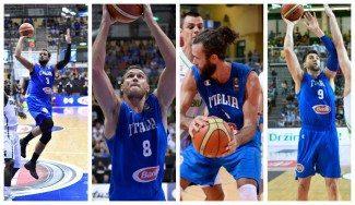 Italia, rival de España, da sus 12 para el Europeo. Póker NBA para soñar con los Juegos
