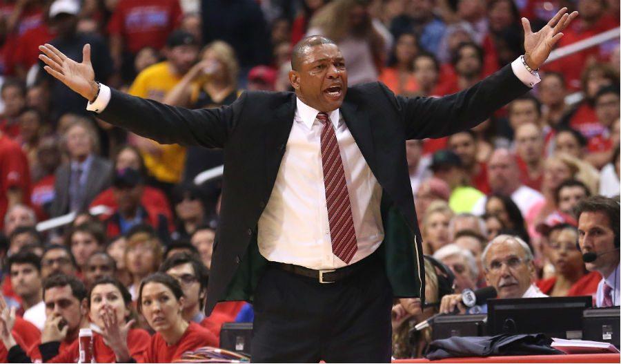 'Doc' Rivers, ¿de los Clippers a los Lakers? Él lo desmiente…