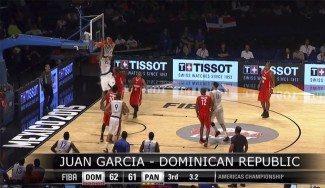 Un mate del dominicano Juan García, cedido al Manresa por el CAI, mejor jugada del tercer día (Vídeo)