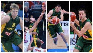 Lituania anuncia un amistoso contra España y reduce la lista del Eurobasket: 4 NBA y 4 ACB