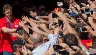 España también arrasa en las redes sociales. El Eurobasket generó más de un millón de tuits