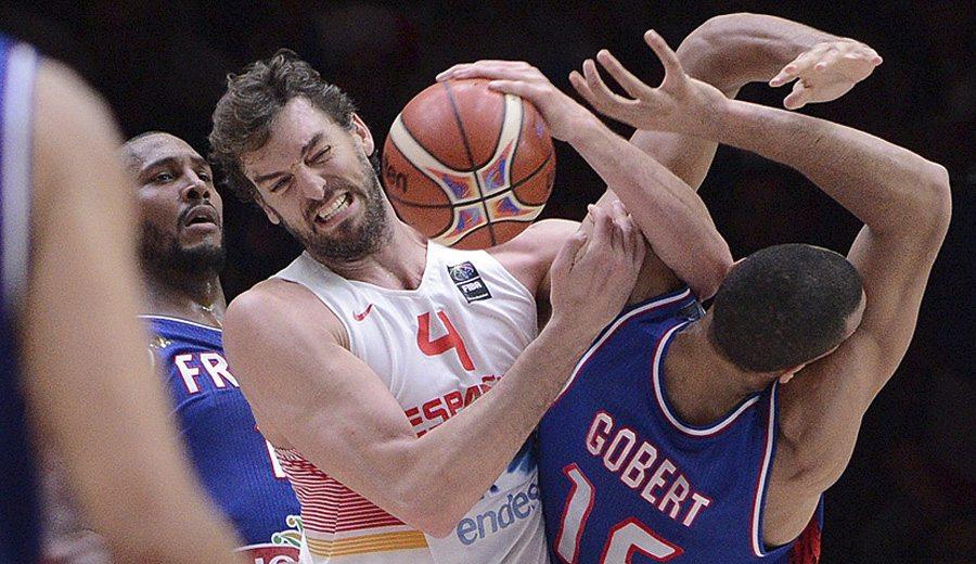 Gobert aviva la rivalidad con España: «Es difícil jugar cuando alguien puede tocarte y tu no»
