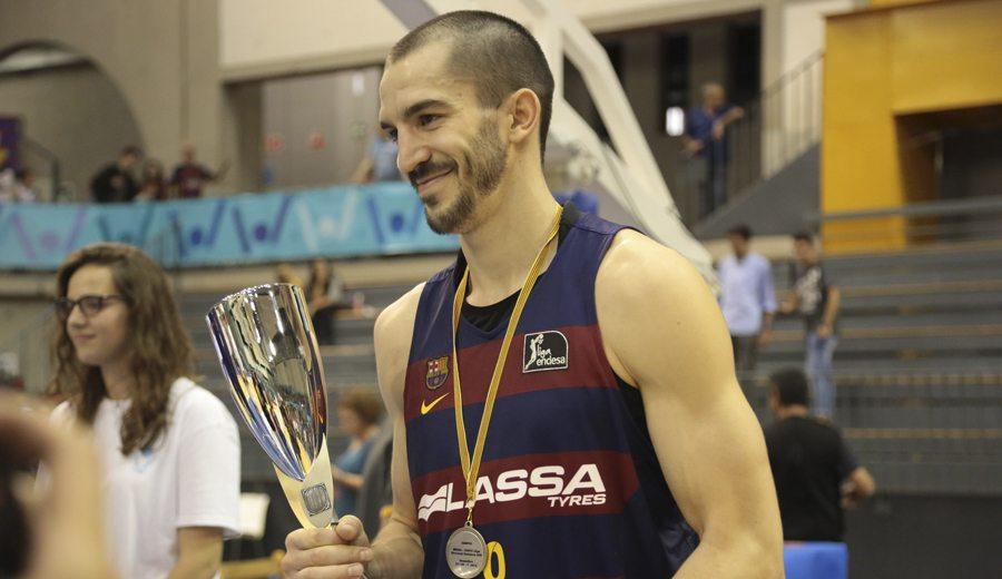 Como una moto. La exhibición del MVP Pau Ribas en la final de la Liga Catalana en vídeo, aquí