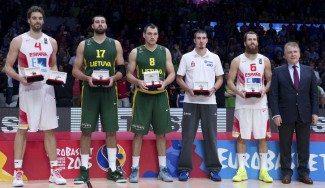 Pau Gasol MVP ofrecido por Tissot. Chacho, De Colo, Maciulis y Valanciunas, quinteto ideal