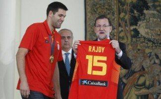 Rajoy: «Esta es la medalla de la fe, la fuerza, talento y convicción»