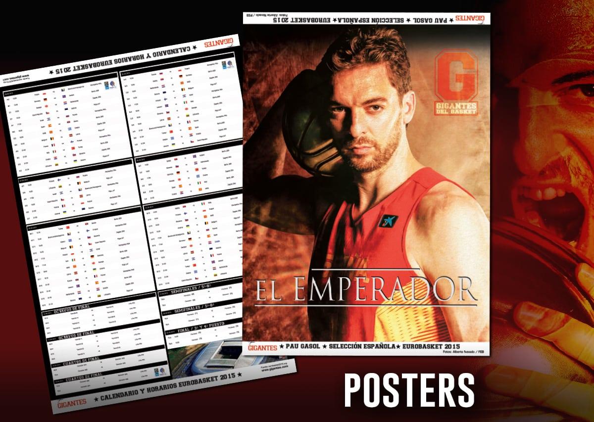 Calendario Eurobasket.Guia Eurobasket 15 En Tu Gigantes Megaposters De Pau Gasol