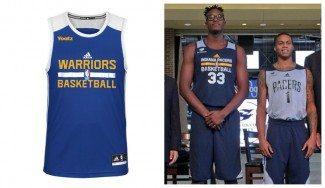 Publicidad en las camisetas de entrenamiento NBA. Así lucen los logos de los patrocinadores