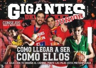 Gigantes Junior. La Selección, un modelo a seguir. Consejos para el nuevo curso