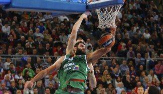 Bourousis, rey del Buesa Arena. Mira la exhibición ante sus ex para ser MVP (Vídeo)