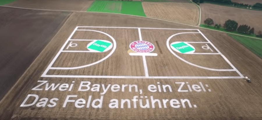 El Bayern y BayWa rompen moldes. ¡Mira qué cancha han diseñado! (Vídeo)