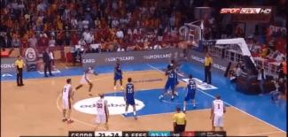 Efes gana al Galatasaray: conexión Granger-Dunston y taponazo del pívot a Dorsey