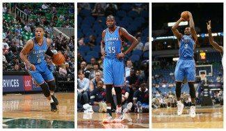 Durant, Ibaka y Westbrook afinan en el triunfo ante Utah. Meten 66 puntos entre los tres (Vídeo)
