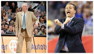 Calipari quiere dirigir a USA Basketball pero el favorito es Gregg Popovich