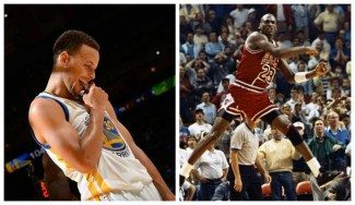 Los 40 puntos de Curry, lejos del mito. Jordan anotó 54 en la jornada inaugural en 1989 (Vídeo)