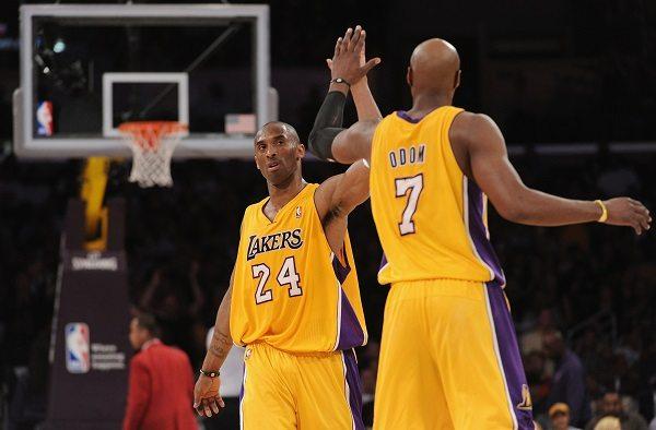 """Kobe Bryant sorprendido por la recuperación de Lamar Odom:  """"Es importante volver a verle de pie"""""""