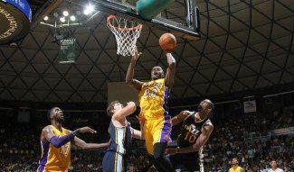 """Kobe, sobre Julius Randle: """"Es Odom en el cuerpo de Zach Randolph. Se mueve muy rápido"""" (Vídeo)"""
