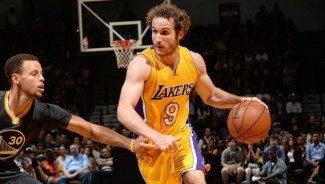 Huertas da 6 asistencias en su debut con los Lakers. Su actuación, aquí (Vídeo)